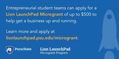Lion LaunchPad restarts microgrant program for entreprenuerial students